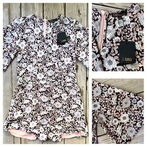 NWT Dalia Floral Romper - Size 4 🌸 With Pockets!
